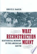 What Reconstruction Meant Book PDF