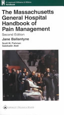 The Massachusetts General Hospital Handbook of Pain Management Book