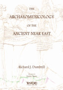 The Archaeomusicology of the Ancient Near East