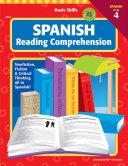 Basic Skills Spanish Reading Comprehension  Level 4  Grades 6   12