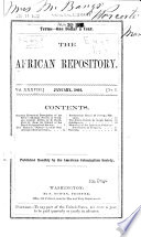 The African Repository ...