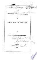 The Productions  Industry  and Resources of New South Wales Book PDF