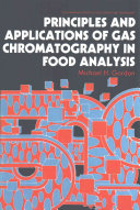 Principles and Applications of Gas Chromatography in Food