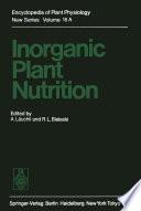 Inorganic Plant Nutrition Book