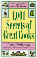 1 001 Secrets of Great Cooks Book PDF