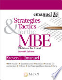 Strategies Tactics For The Mbe