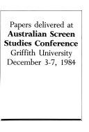 The Australian Journal Of Screen Theory