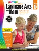 Spectrum Language Arts and Math  Grade 5
