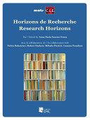 Pdf Horizons de Recherche - Research Horizons1 Telecharger