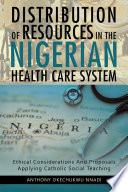 Distribution of Resources in the Nigerian Health Care System