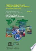 Tropical Biology and Conservation Management   VI