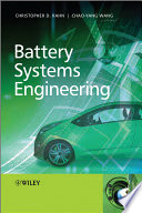 Battery Systems Engineering Book