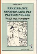 Renaissance panafricaine des peuples nègres