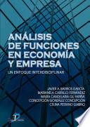 Análisis de funciones y economía en la empresa