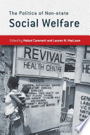 The Politics of Non state Social Welfare