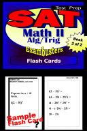 SAT Math Level II Test Prep Review--Exambusters Algebra 2-Trig Flash Cards--Workbook 2 of 2 [Pdf/ePub] eBook
