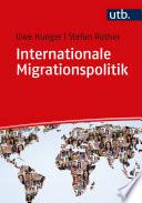 Öffnen Sie das Medium Internationale Migrationspolitik von Hunger, Uwe im Bibliothekskatalog