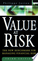 Value at Risk  3rd Ed  Book