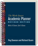 The Work-Smart Academic Planner, Revised Edition