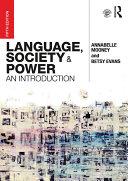Language, Society and Power Pdf/ePub eBook