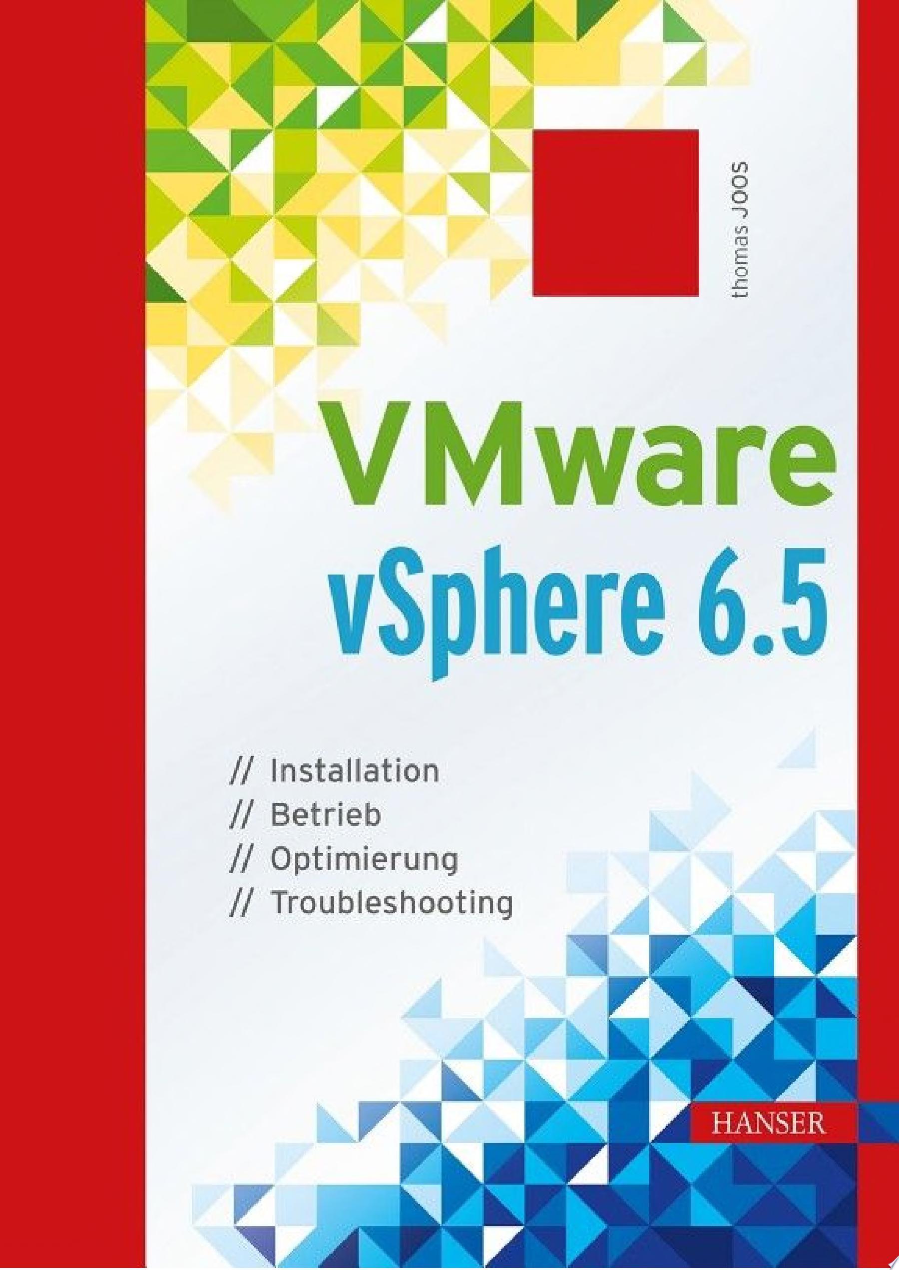 VMware vSphere 6 5