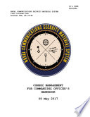 Manuals Combined Comsec Management For Commanding Officer S Handbook Commander S Cyber Security And Information Assurance Handbook Ekms 1b Electronic Key Management System Ekms Policy Book PDF