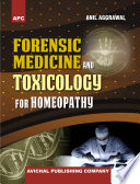 APC Forensic Medicine and Toxicology for Homeopathy Book