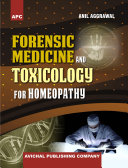 APC Forensic Medicine and Toxicology for Homeopathy