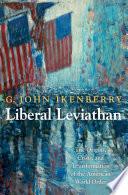 Liberal Leviathan Book