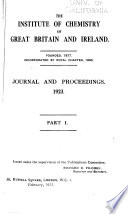 Journal of the Royal Institute of Chemistry