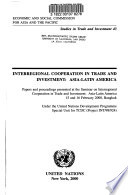 Interregional Cooperation in Trade and Investment