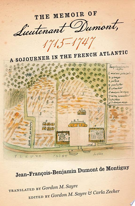 The Memoir of Lieutenant Dumont, 17