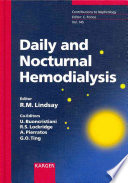 Daily And Nocturnal Hemodialysis
