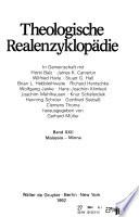 Theologische Realenzyklopädie