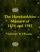The Herefordshire Musters of 1539 and 1542