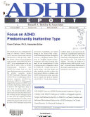 The ADHD Report