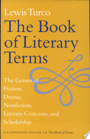 The+Book+of+Literary+TermsAn expert's indispensable guide to English letters and the writing arts.