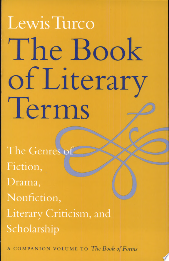The Book of Literary Terms