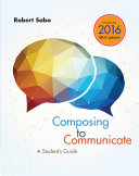 Composing to Communicate  A Student s Guide  2016 MLA Update