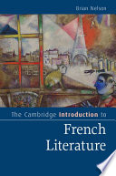 The Cambridge Introduction to French Literature Pdf/ePub eBook