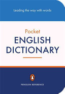 The Penguin Pocket English Dictionary