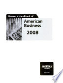 Hoover's Handbook of American Business 2008