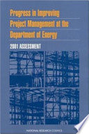 Progress In Improving Project Management At The Department Of Energy Book PDF