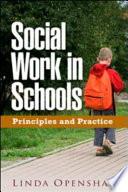 Social Work in Schools