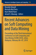 Recent Advances on Soft Computing and Data Mining [Pdf/ePub] eBook