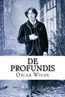 De Profundis Oscar Wilde banner backdrop