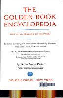 THE GOLDEN BOOK ENCYCLOPEDIA VOLUME XV-THAILAND TO VOLCANOES