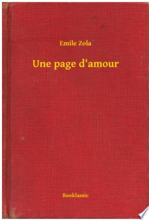 Download Une page d'amour Free PDF Books - Free PDF
