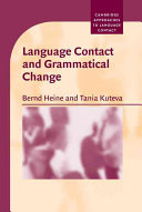 Language Contact and Grammatical Change