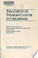 Treatment of Thyroid Cancer in Childhood